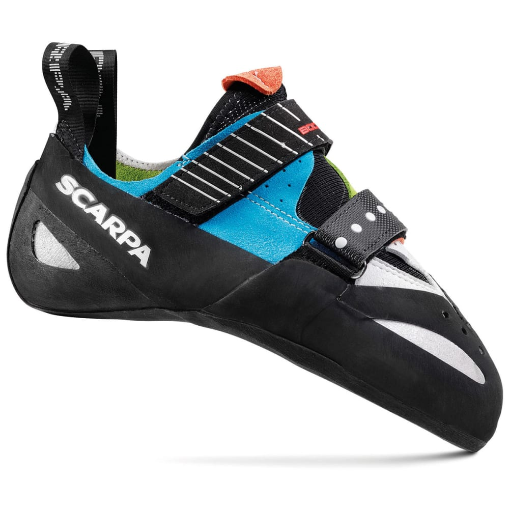 SCARPA Boostic Climbing Shoes - CYAN/SPRING