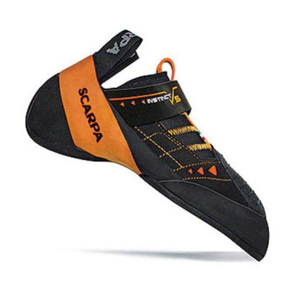 SCARPA Instinct VS Climbing Shoes - BLACK/ORANGE