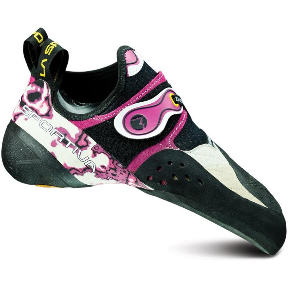 LA SPORTIVA Women's Solution Climbing Shoes - WHITE