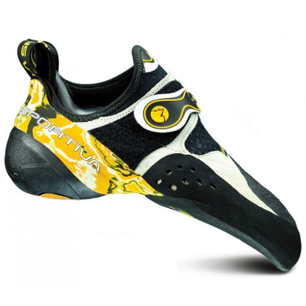 LA SPORTIVA Men's Solution Climbing Shoes - WHITE