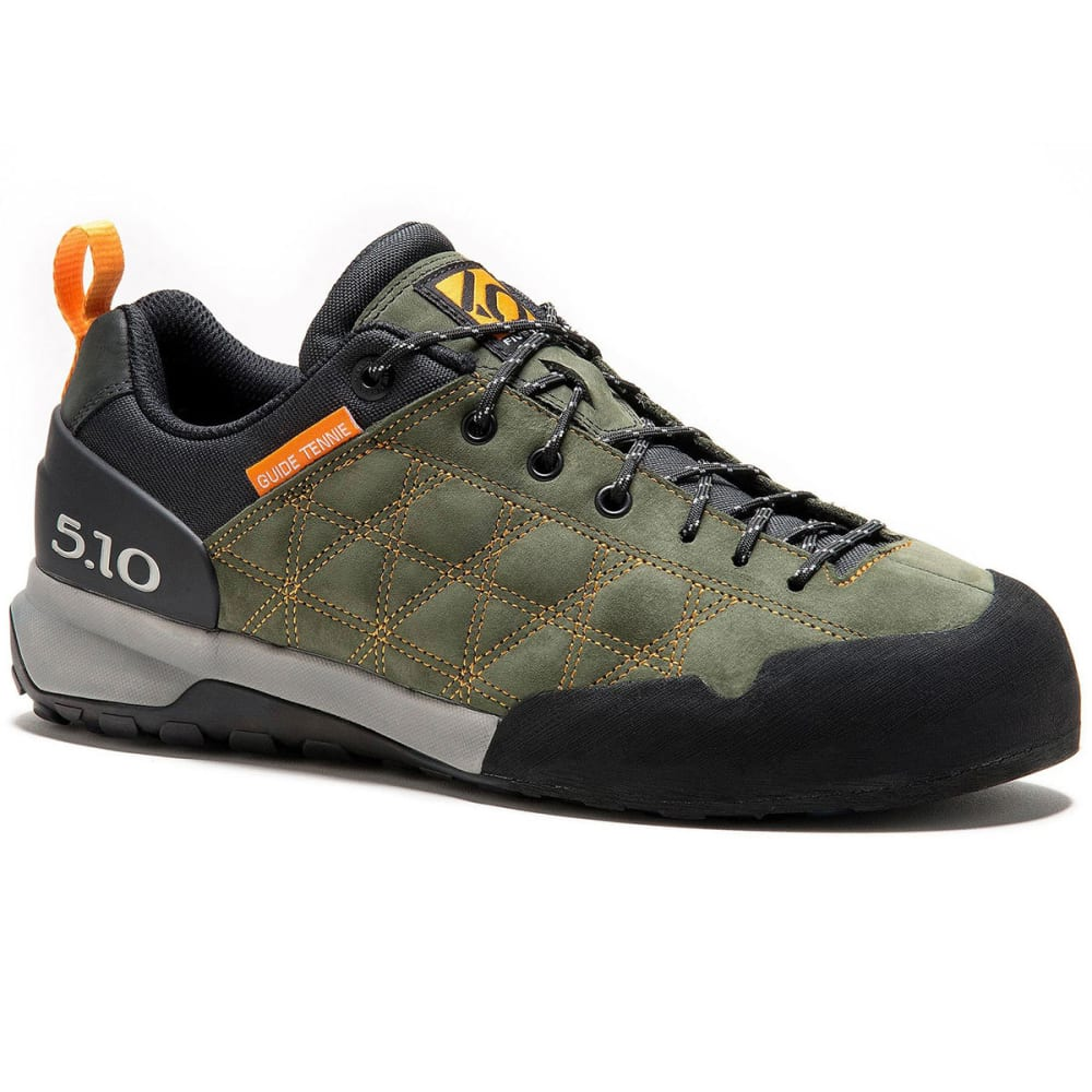 FIVE TEN Men's Guide Tennie Hiking Shoes - BASE GREEN