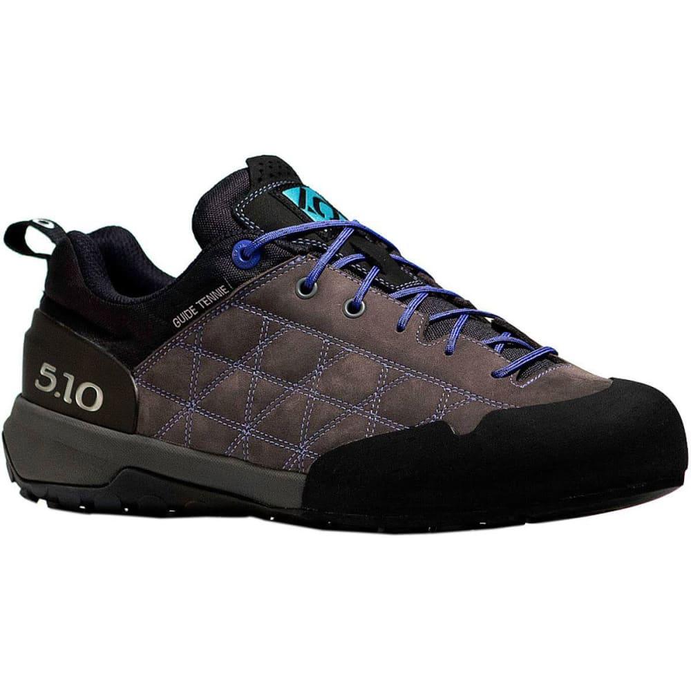 FIVE TEN Women's Guide Tennie Hiking Shoes - CHARCOAL/IRIS