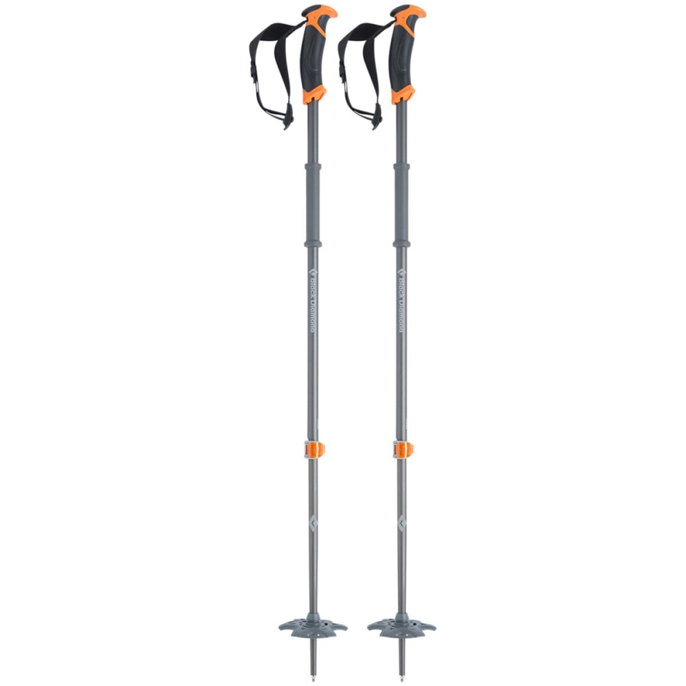 BLACK DIAMOND Traverse Ski Poles, 2014 - BD ORANGE
