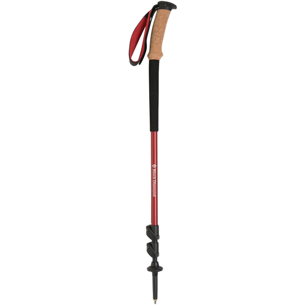 BLACK DIAMOND Trail Ergo Trekking Poles - RED