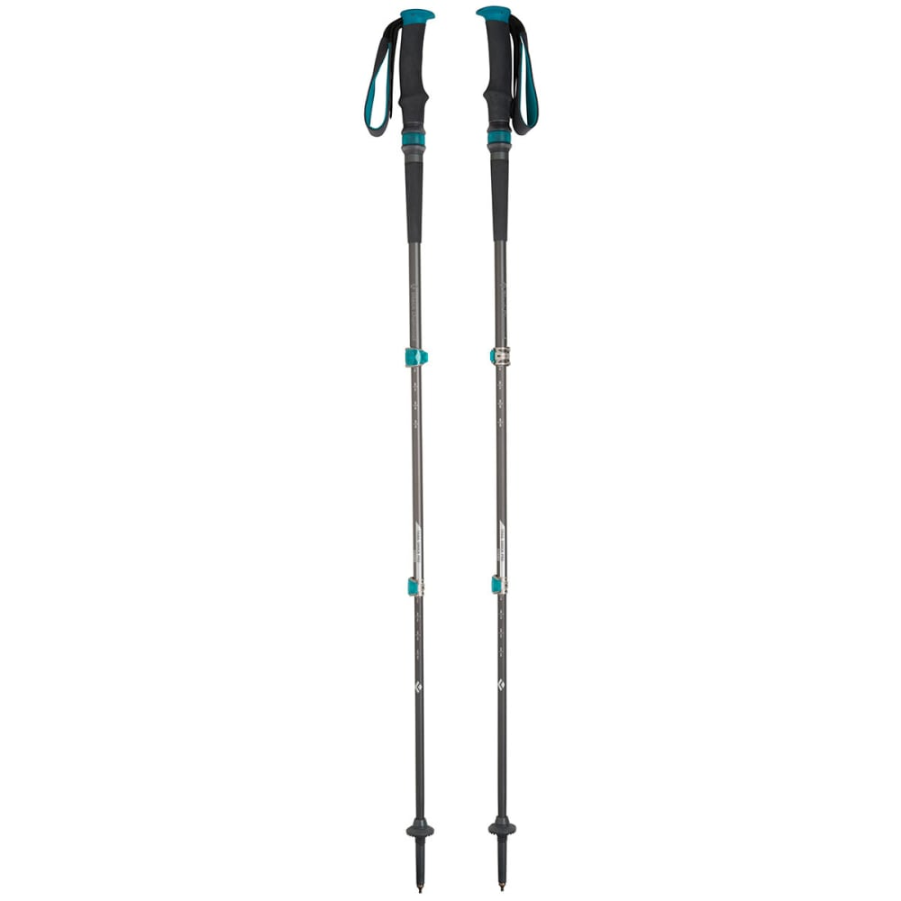 BLACK DIAMOND Women's Trail Shock Trekking Poles, 2014 - TEAL
