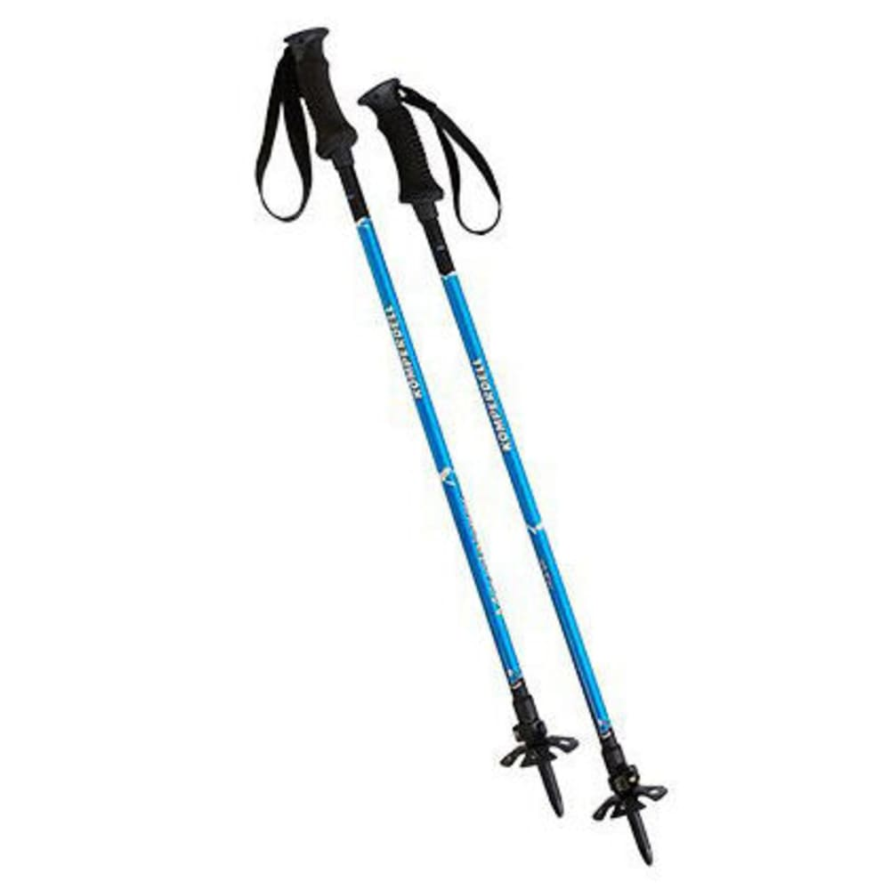 KOMPERDELL Mountaineer Titanal Powerlock Trekking Poles - NONE