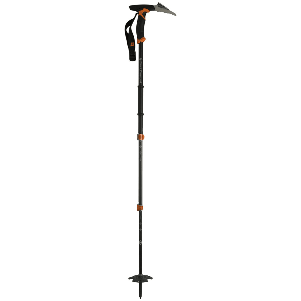 BLACK DIAMOND Carbon Whippet Trekking Pole, 2015 - BD ORANGE