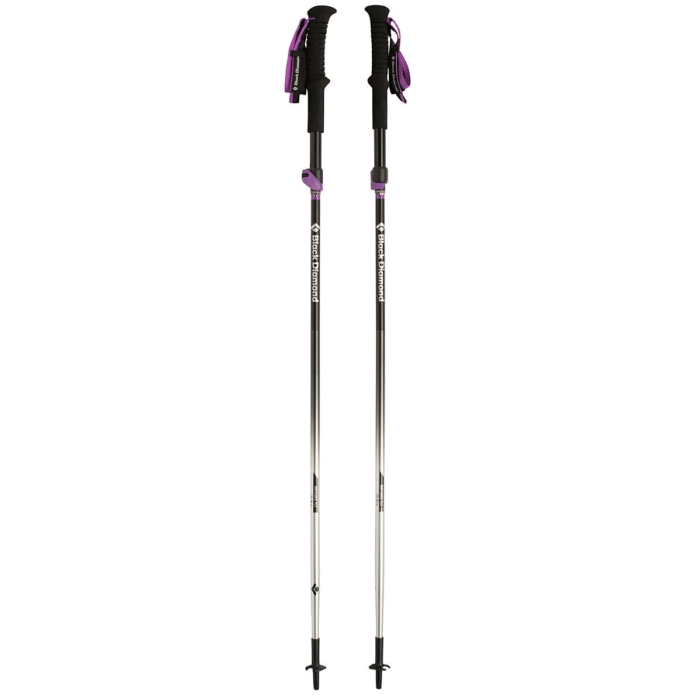 BLACK DIAMOND Women's Distance FLZ Trekking Poles - OXIDE BLACK