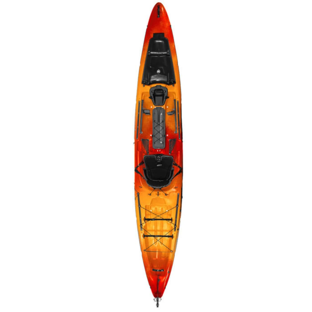 WILDERNESS SYSTEMS Thresher 140 Kayak with Rudder - MANGO