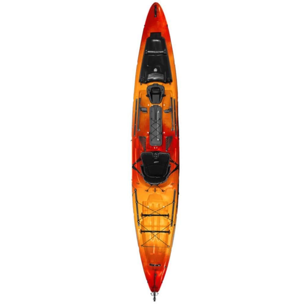 WILDERNESS SYSTEMS Thresher 140 Kayak with Rudder - MANGO