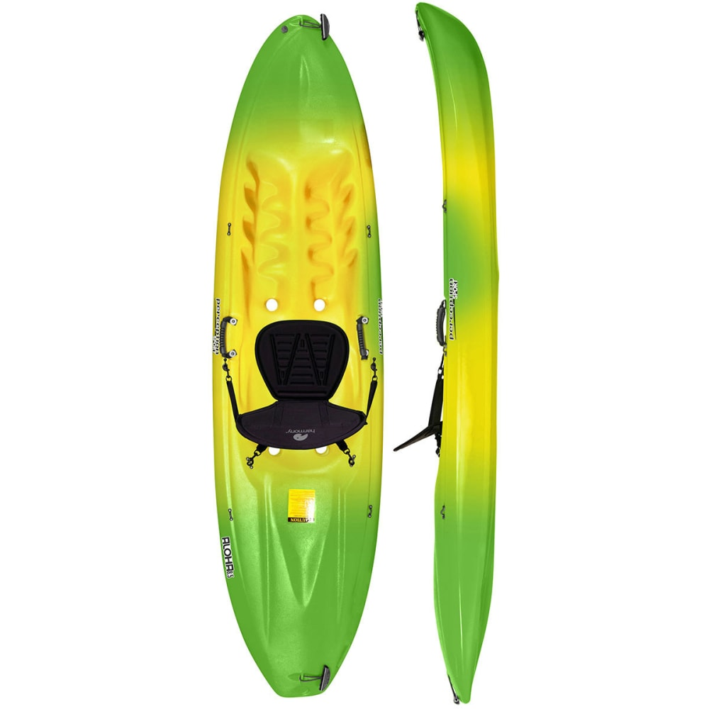 PERCEPTION Aloha 8.5 Kayak - LIME/YELLOW