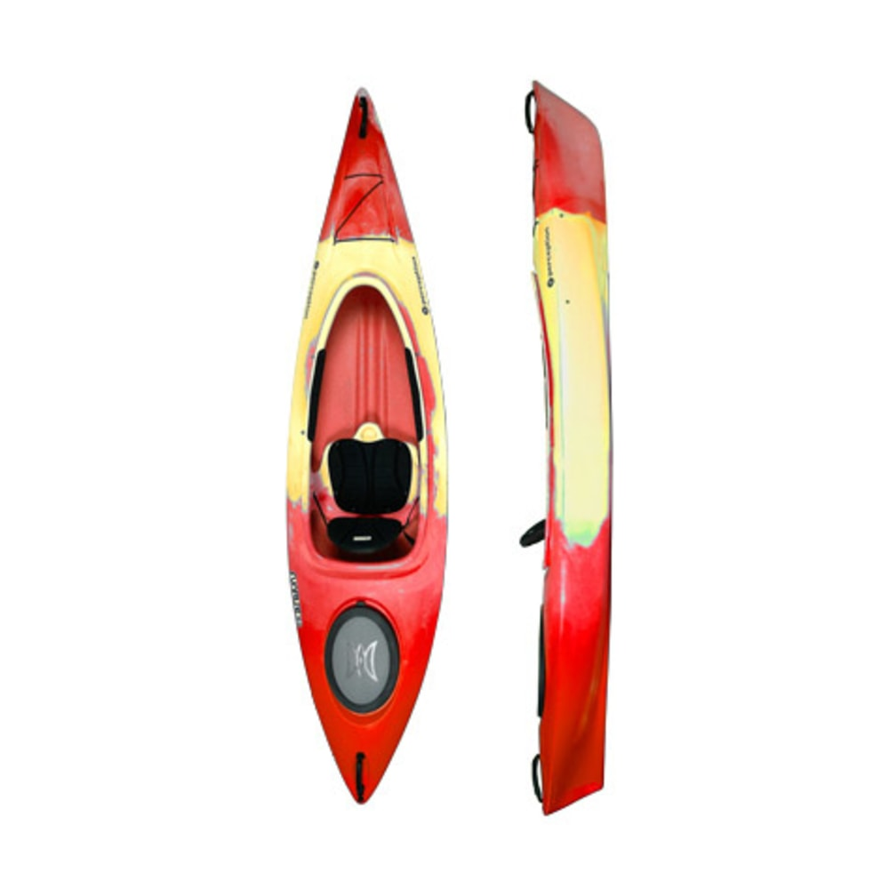 PERCEPTION Sunrise 100 Kayak - RED/YELLOW