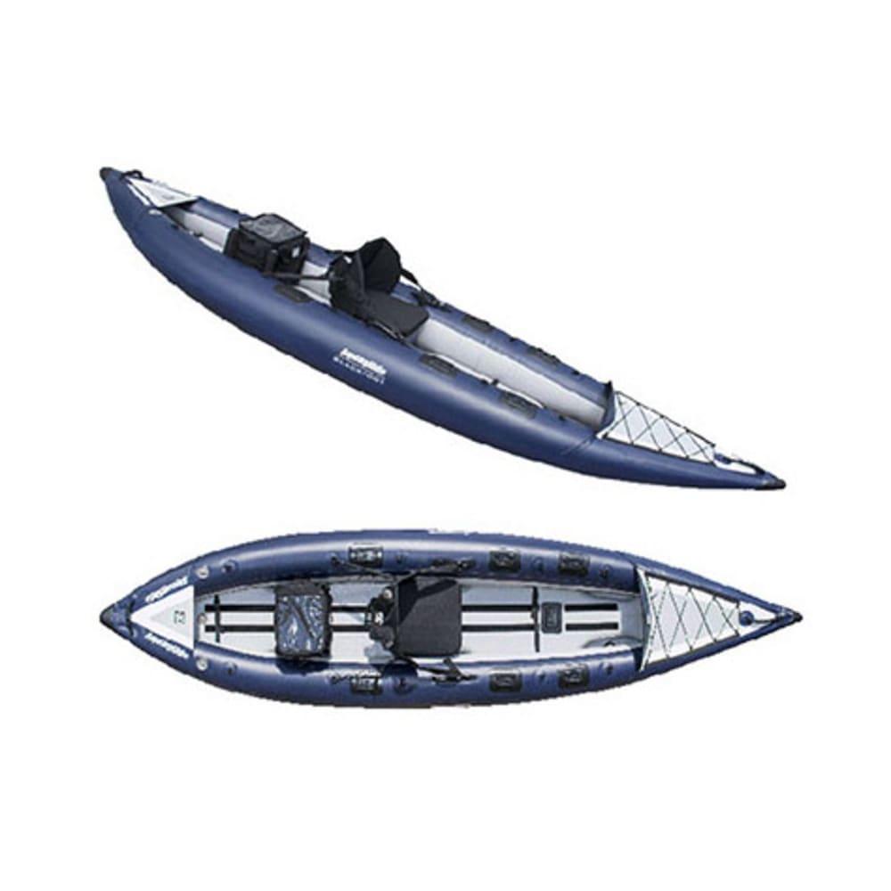 AQUAGLIDE Blackfoot HB Inflatable Kayak - BLUE
