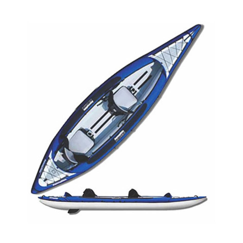 AQUAGLIDE Columbia XP Two Inflatable Kayak - BLUE
