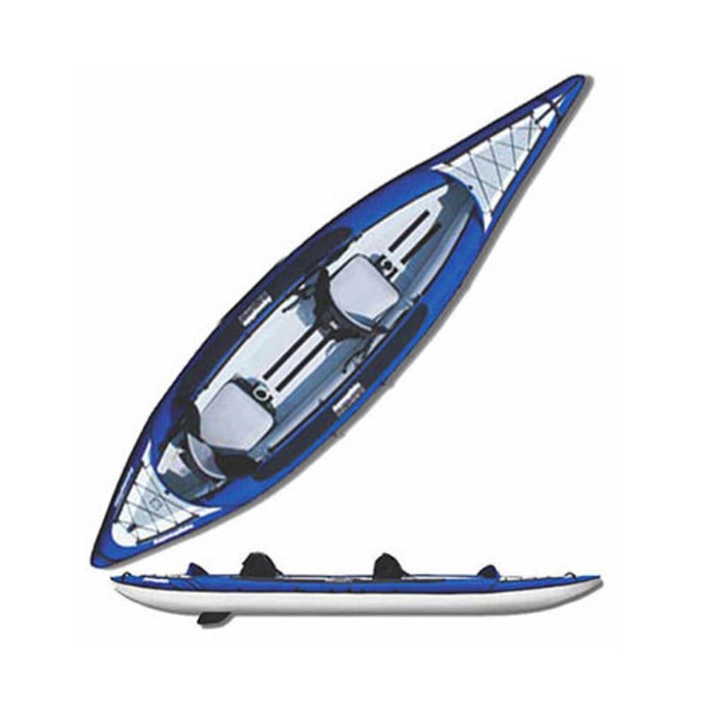AQUAGLIDE Columbia XP Tandem XL Inflatable Kayak - BLUE