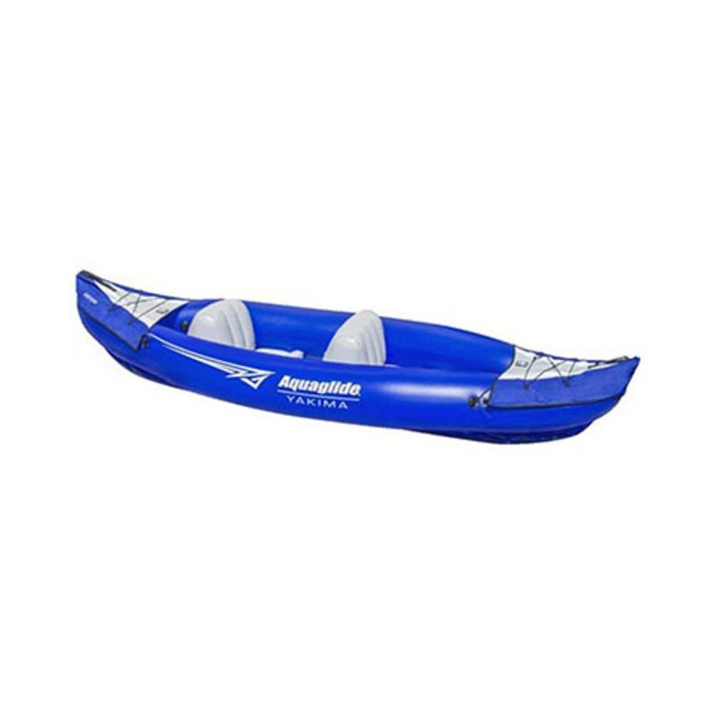 AQUAGLIDE Yakima Inflatable Tandem Kayak - BLUE
