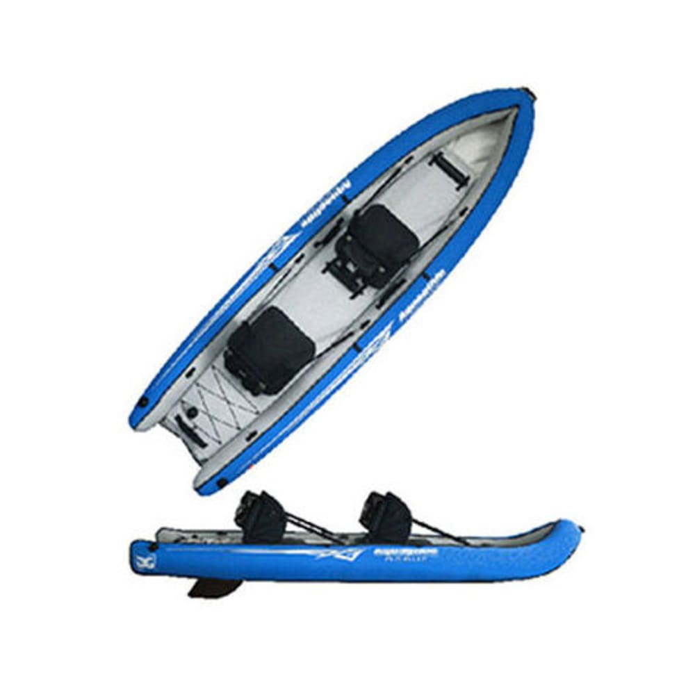 AQUAGLIDE Rogue XP Two Inflatable Kayak - BLUE