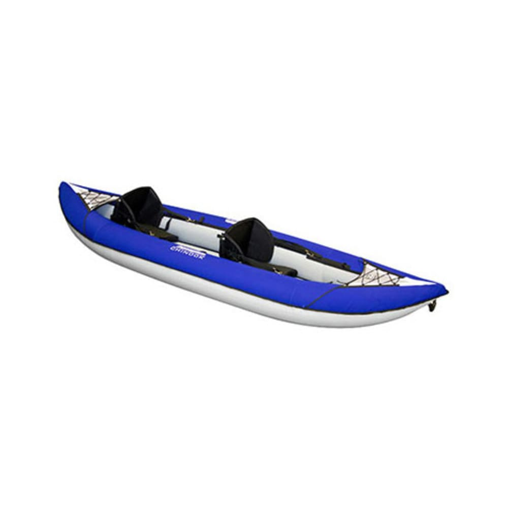 AQUAGLIDE Chinook XP Two Tandem Inflatable Kayak - BLUE