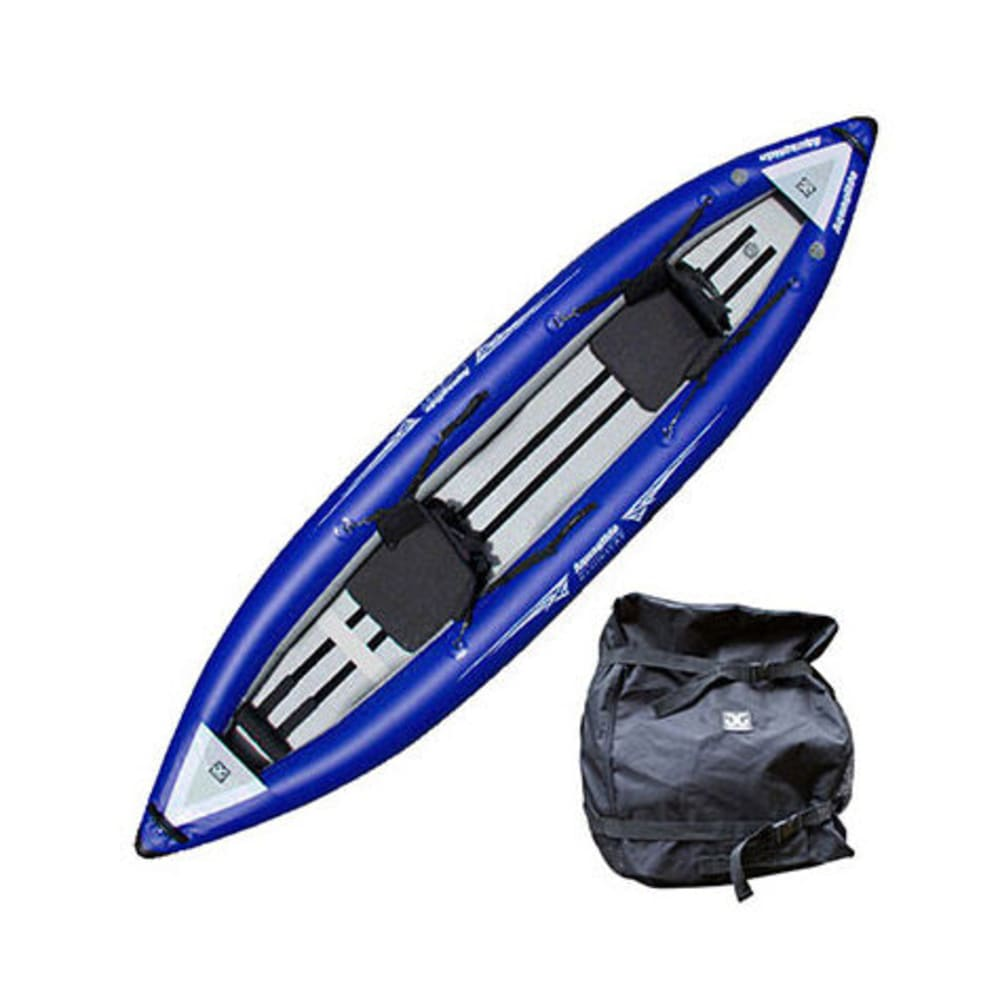 AQUAGLIDE Klickitat Two HB Inflatable Kayak - BLUE