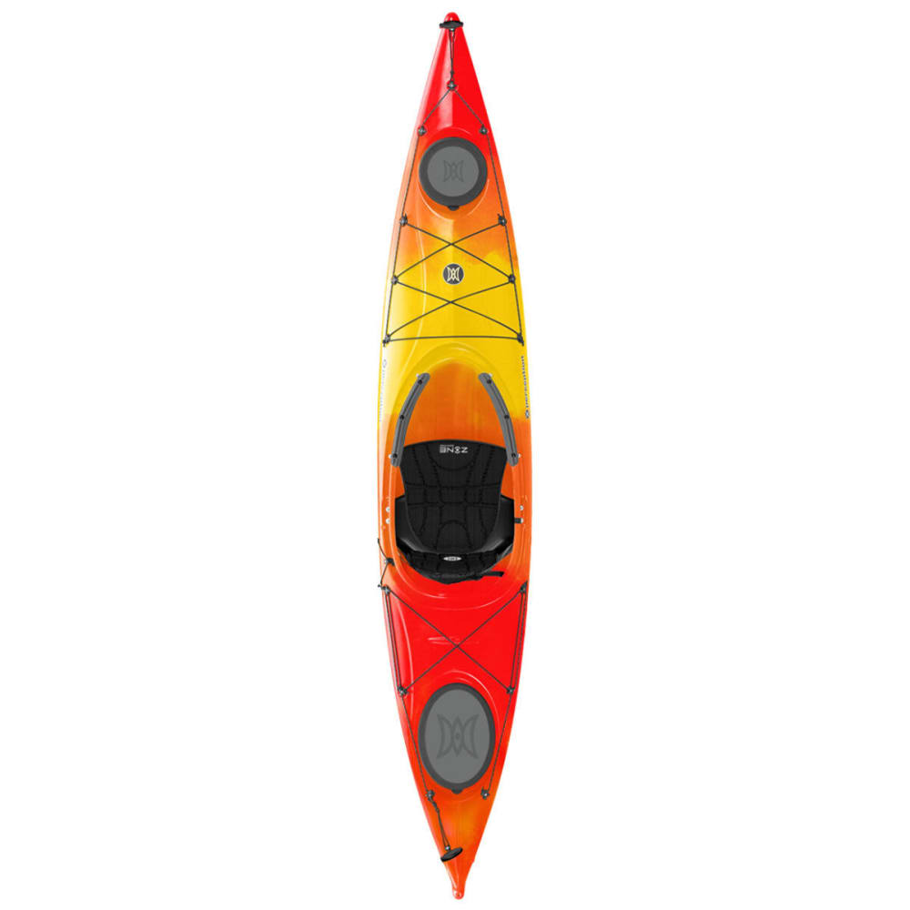PERCEPTION Carolina 12 Kayak - RED/YELLOW