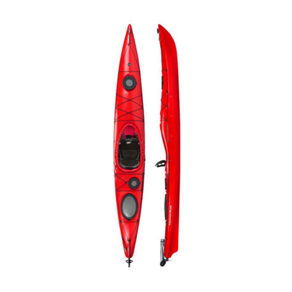 WILDERNESS SYSTEMS Tsunami 145 Kayak with Rudder - RED