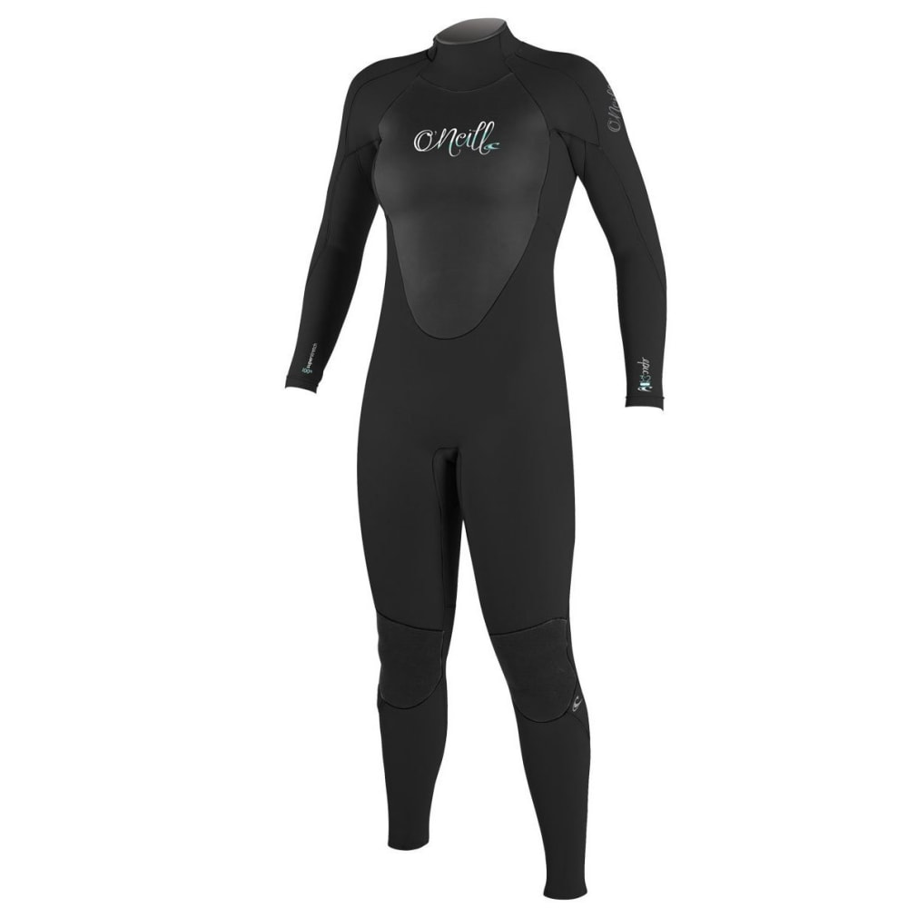 O'NEILL Women's Epic 3/2 Full Back-Zip Wetsuit - BLACK