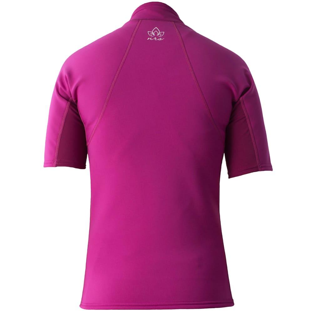 NRS Women's HydroSkin 0.5 Short-Sleeve Shirt - PURPLE HAZE