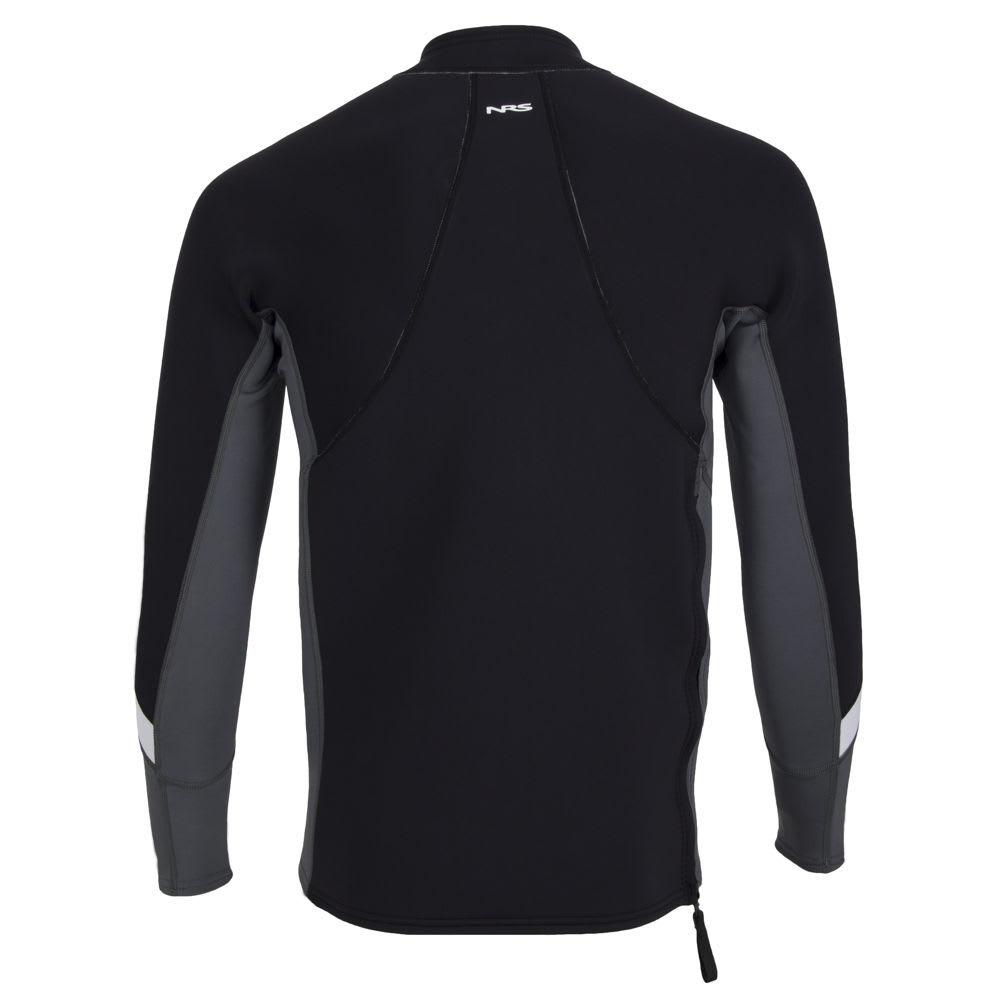 NRS Men's HydroSkin 1.5 Shirt - BLACK
