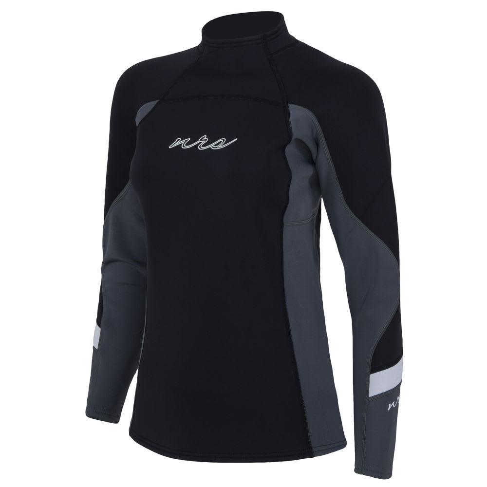 NRS Women's HydroSkin 1.5 Shirt - BLACK