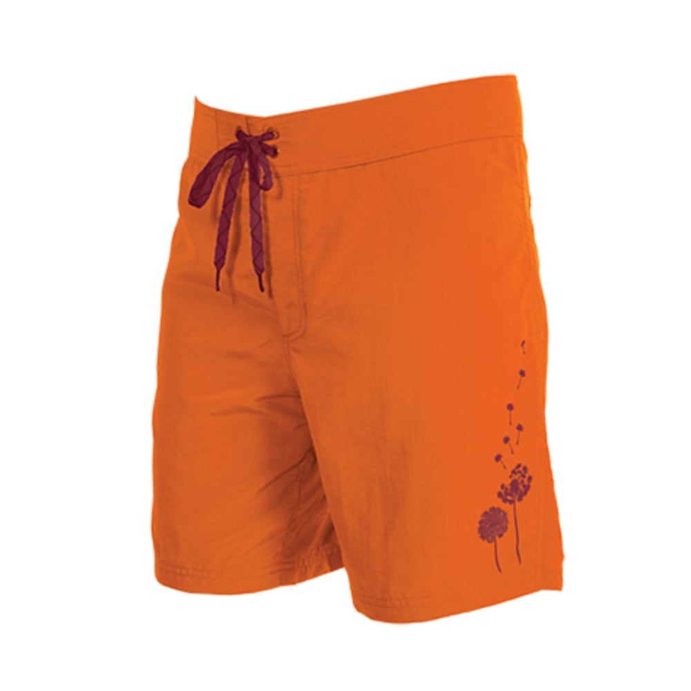 KOKATAT Women's Destination Surf Trunks - PUMPKIN