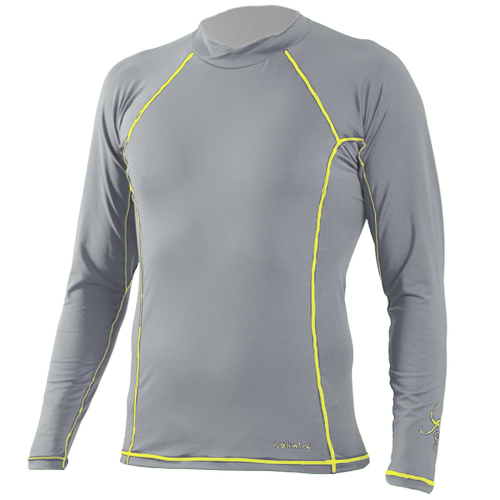 KOKATAT Men's SunCore Shirt, L/S - LIGHT GRAY