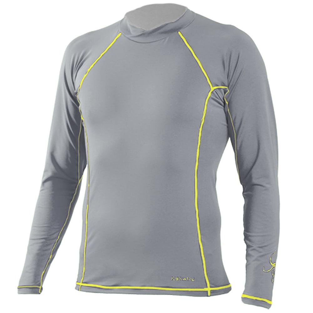 KOKATAT Men's SunCore Shirt, L/S - LIGHT GRAY