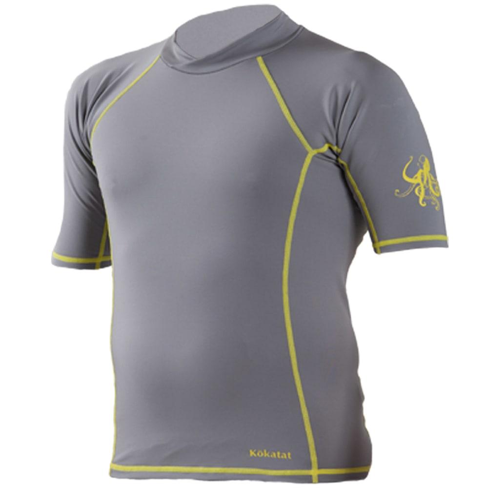 KOKATAT Men's SunCore Shirt, S/S - LIGHT GRAY