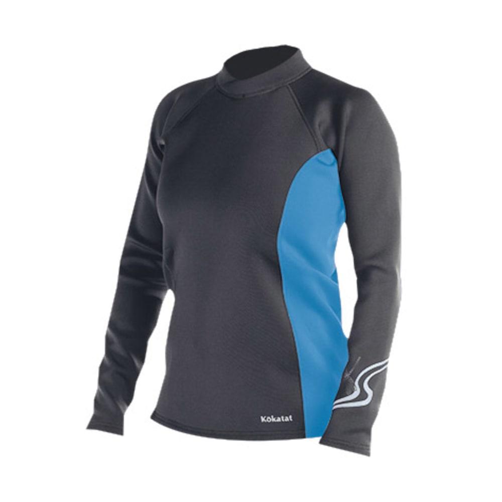 KOKATAT Women's NeoCore Shirt, L/S - CHARCOAL/SKY