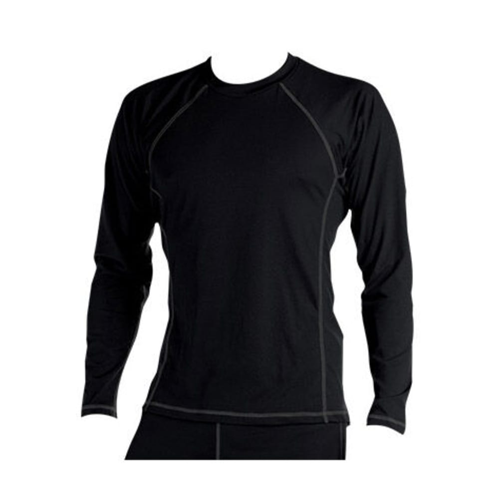 KOKATAT Men's BaseCore Shirt, L/S - BLACK