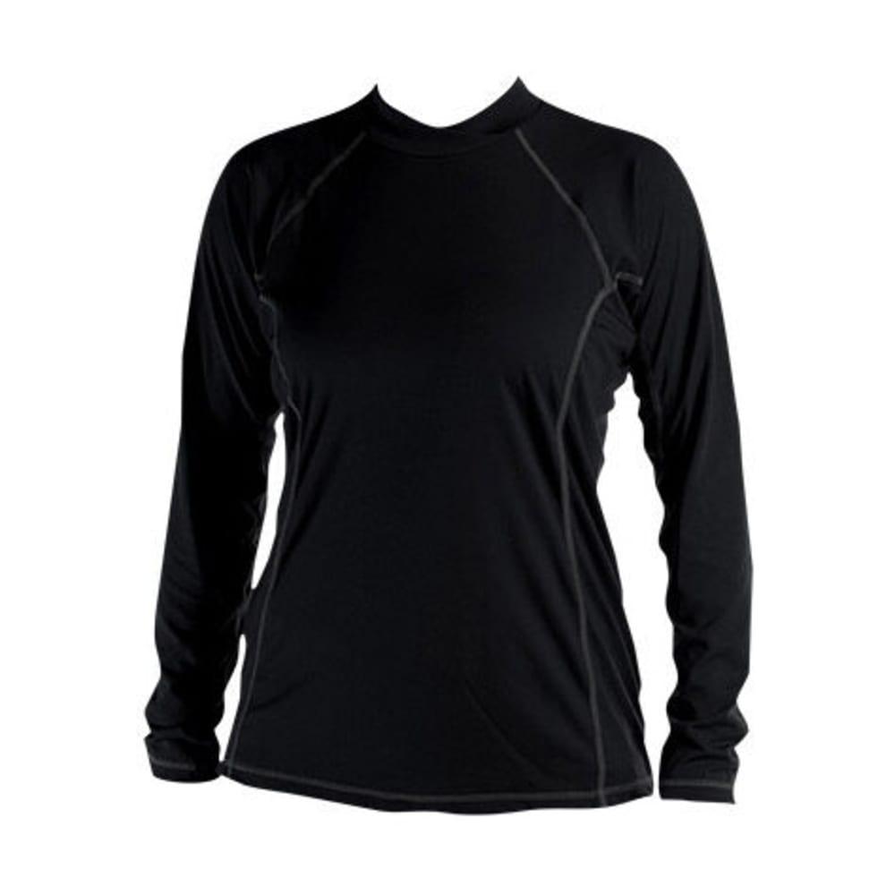 KOKATAT Women's BaseCore Shirt, L/S - BLACK