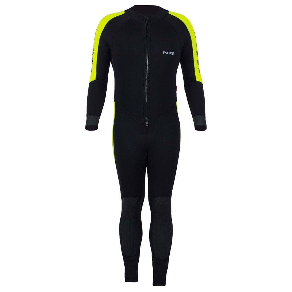 NRS Rescue 5/3mm Wetsuit - BLACK/YELLOW