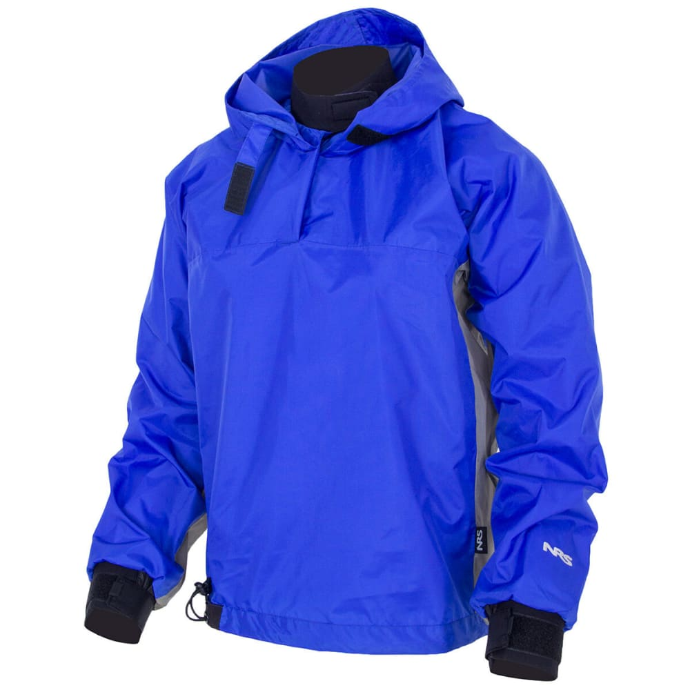 NRS Hooded Rio Top Paddle Jacket - BLUE
