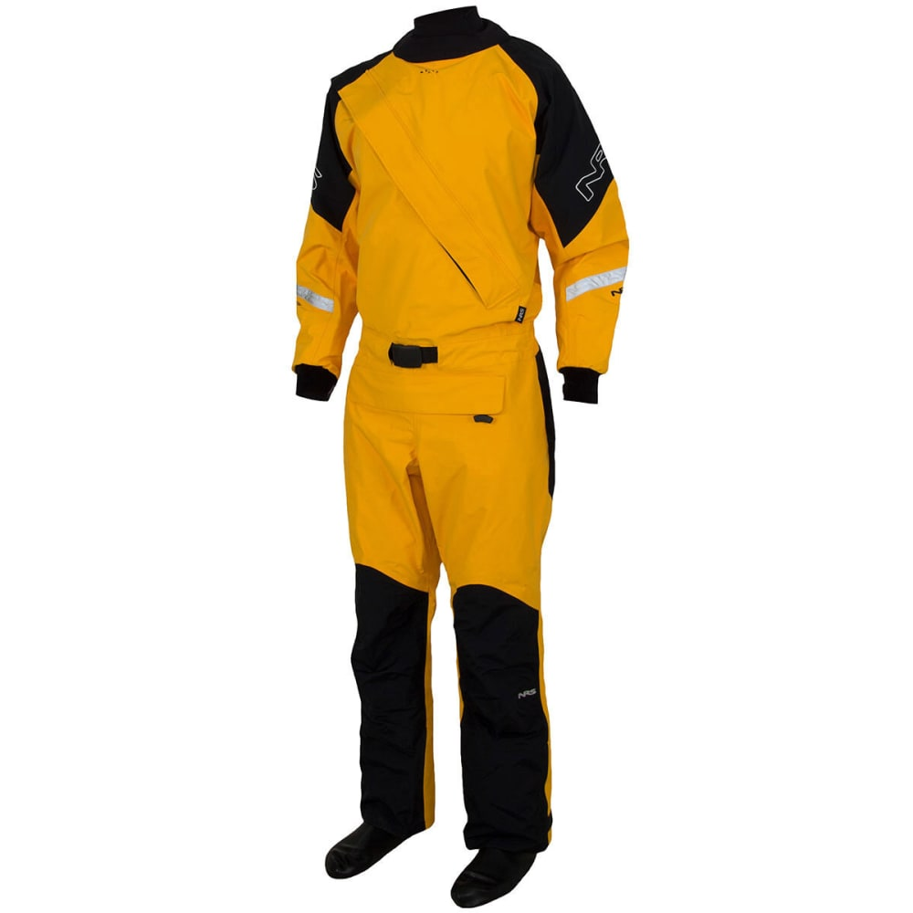 NRS Men's Extreme Drysuit - YELLOW