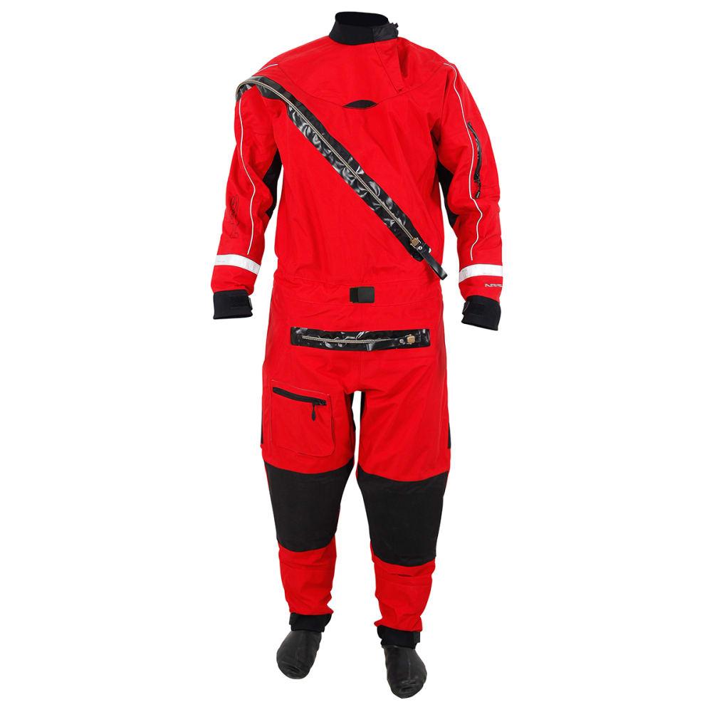 NRS Extreme SAR Drysuit - RED/BLACK
