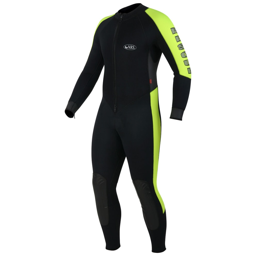 NRS Grizzly Rescue 5/3mm Wetsuit - BLACK/YELLOW