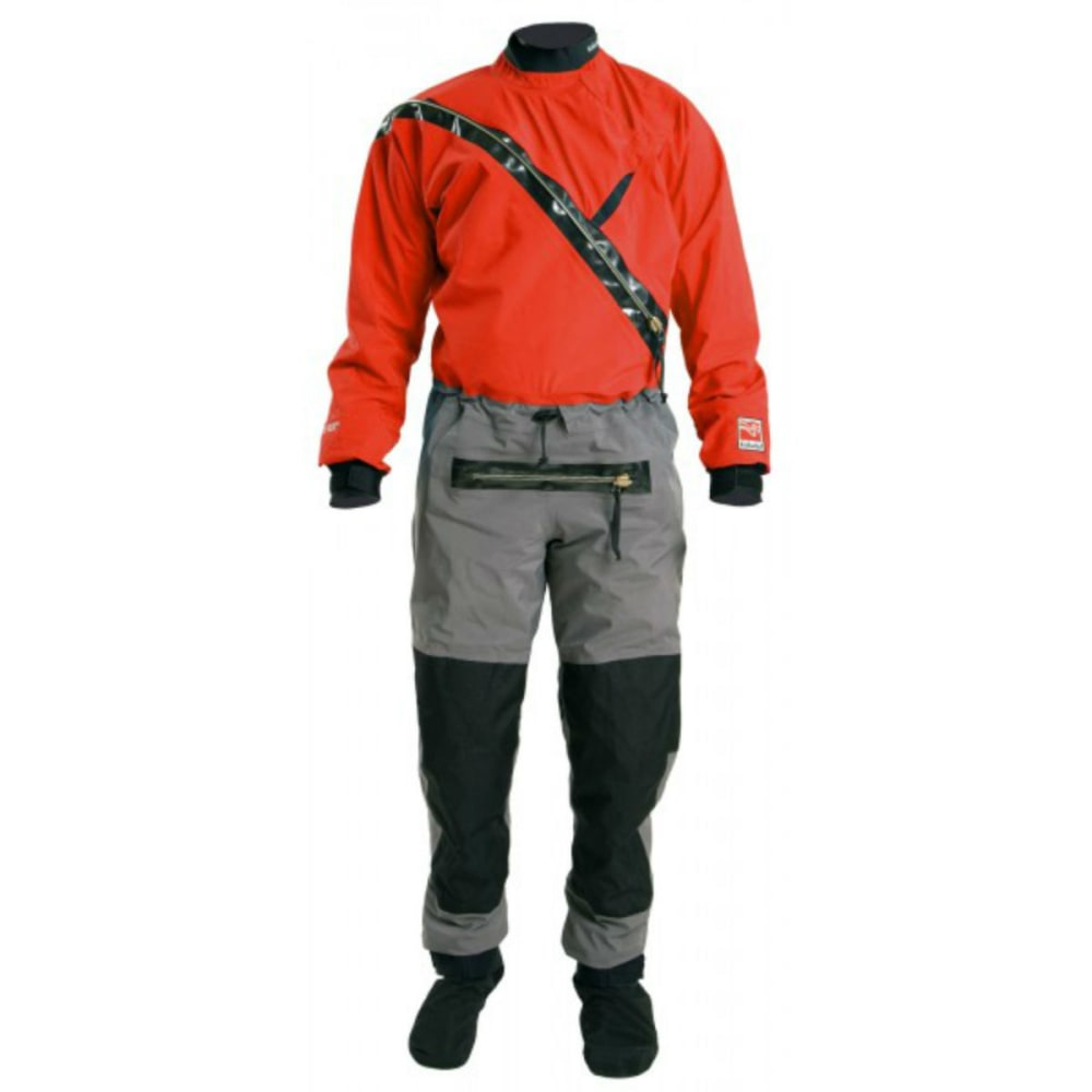 KOKATAT Men's Gore-Tex Front-Entry Drysuit with Relief - CHILI