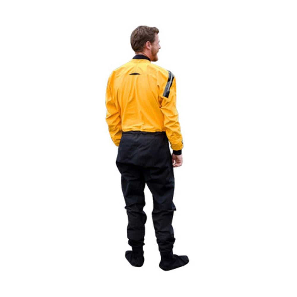 KOKATAT Men's Gore-Tex Front-Entry Drysuit with Relief - MANGO/BLACK