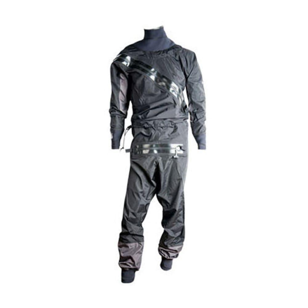 BOMBER GEAR Men's Hydrobomb Dry Suit - BLACK