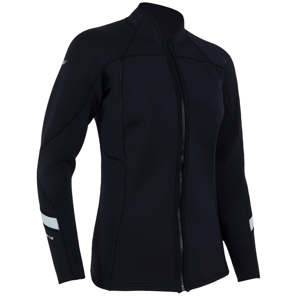 NRS Women's HydroSkin 1.5 Jacket - BLACK