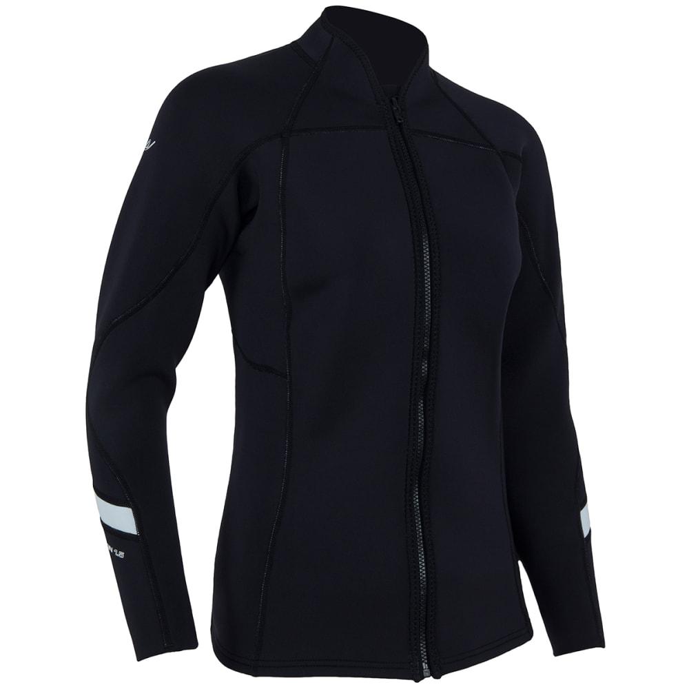 NRS Women's HydroSkin 1.5 Jacket - BLACK
