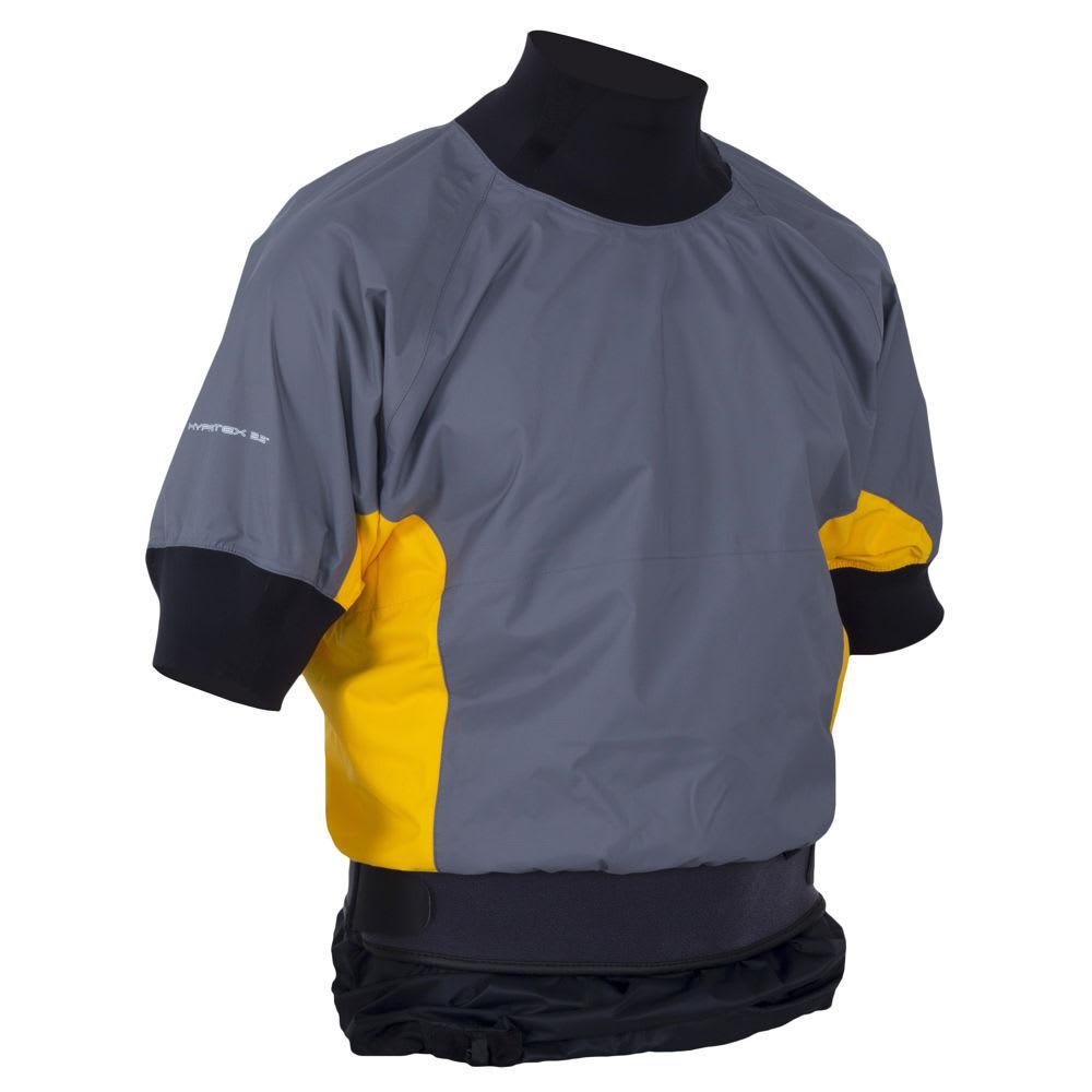 NRS Men's Stampede Shorty Jacket - GREY/YELLOW