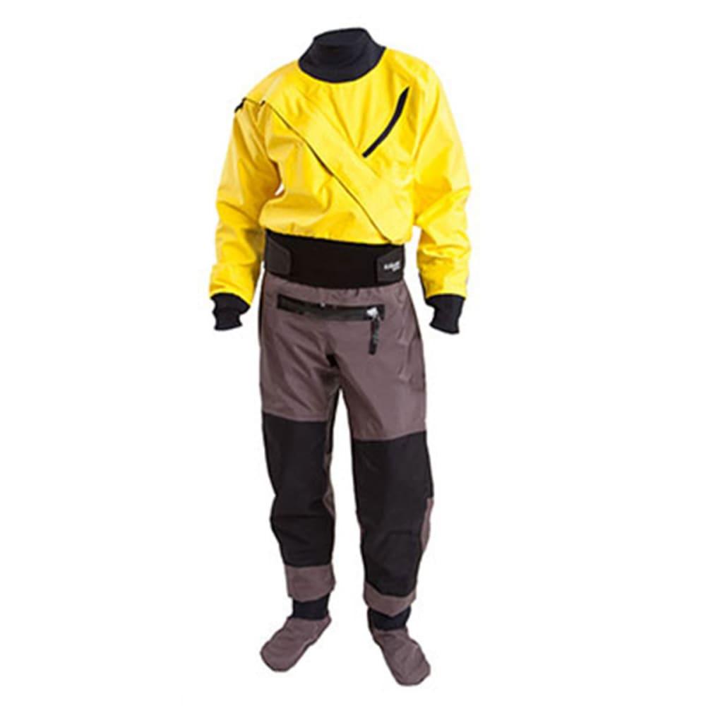 KOKATAT Men's GORE-TEX Meridian Drysuit, XXL - YELLOW/BLACK