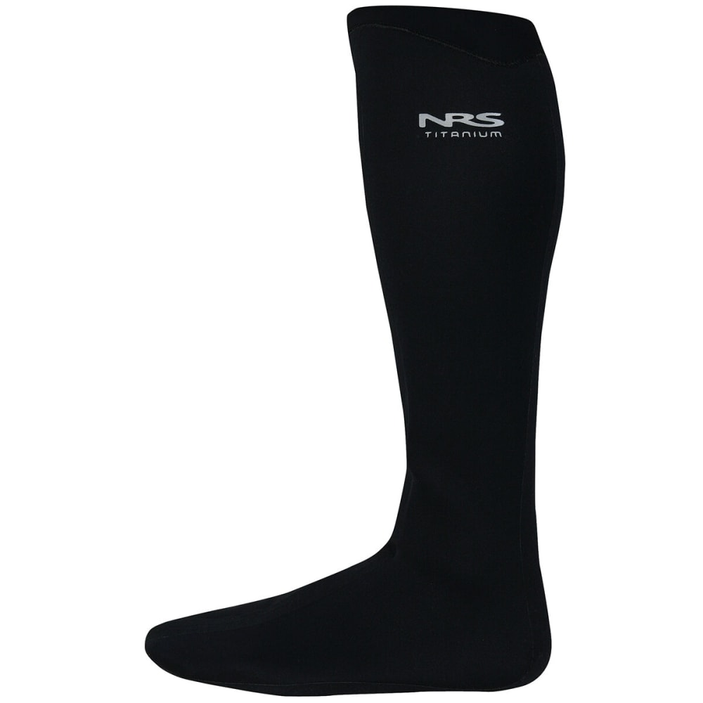 NRS Boundary Socks with HydroCuff - BLACK