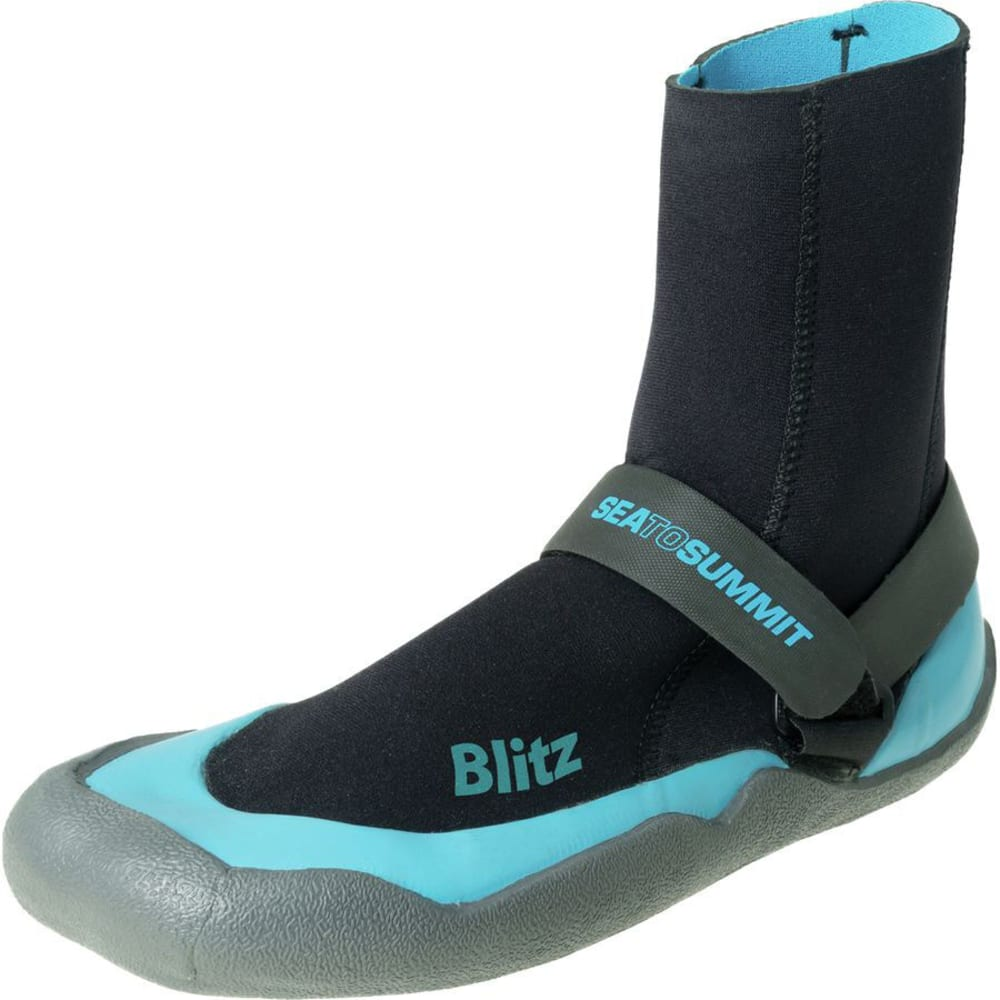 SEA TO SUMMIT Blitz Booties - BLACK/BLUE